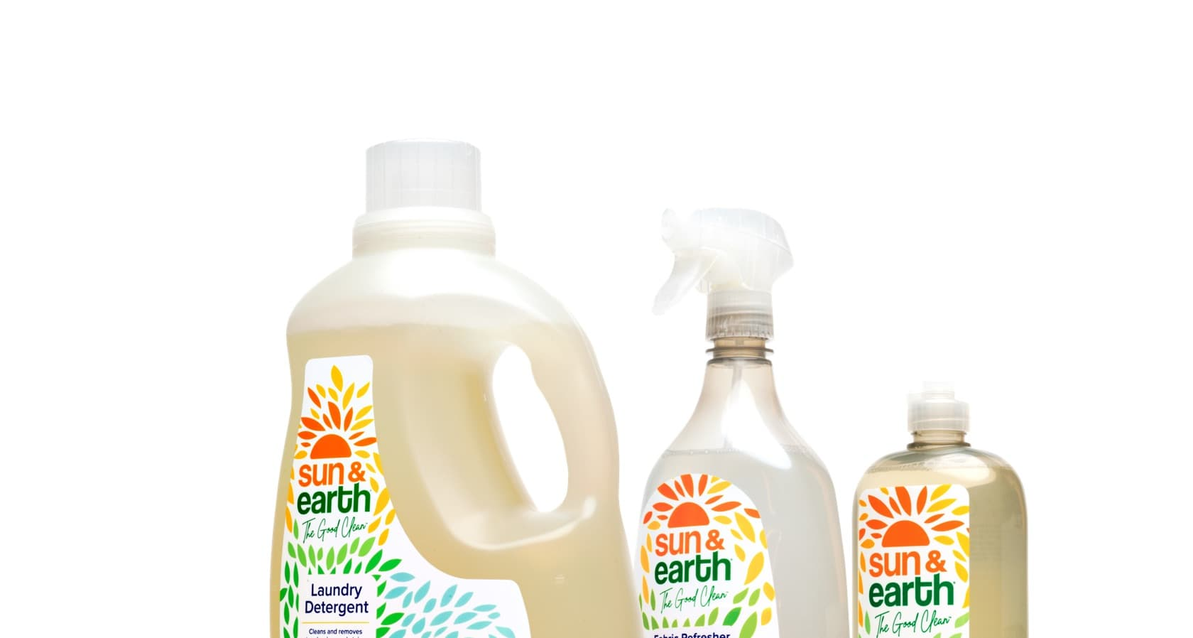 sun and earth product line up