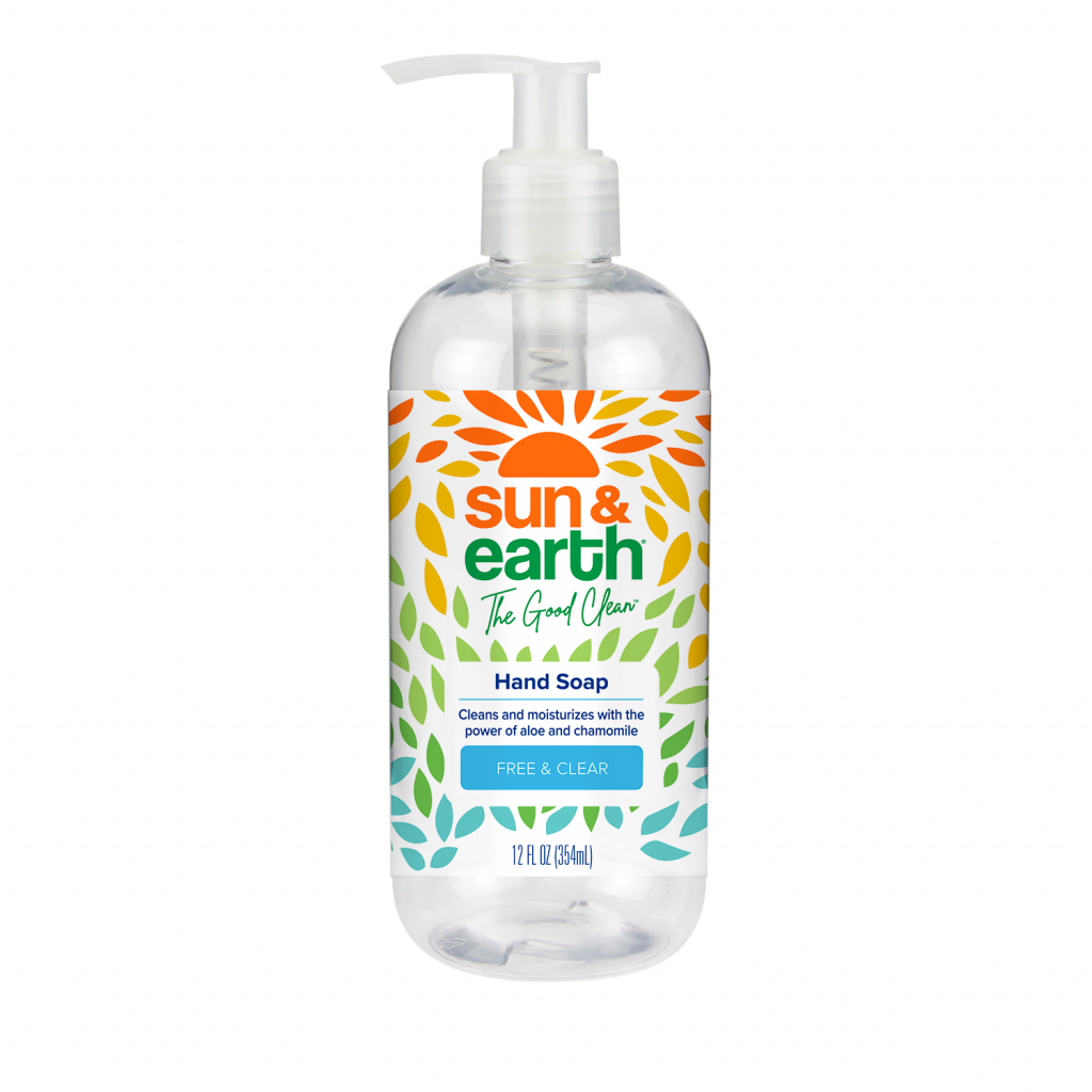 sun and earlth plant based hand soap